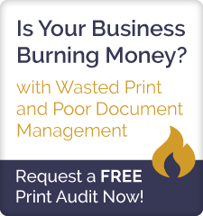 Request a Free Print Audit from 1st Office